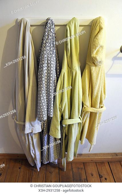 bathrobes, France, Europe