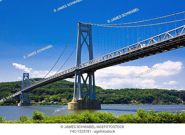 Mid-Hudson Bridge over the Hudson River in New York State