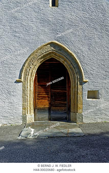 Kirche, Eingang