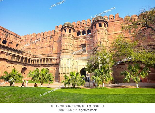 Agra Red Fort - The Amar Singh Gate, Agra, India