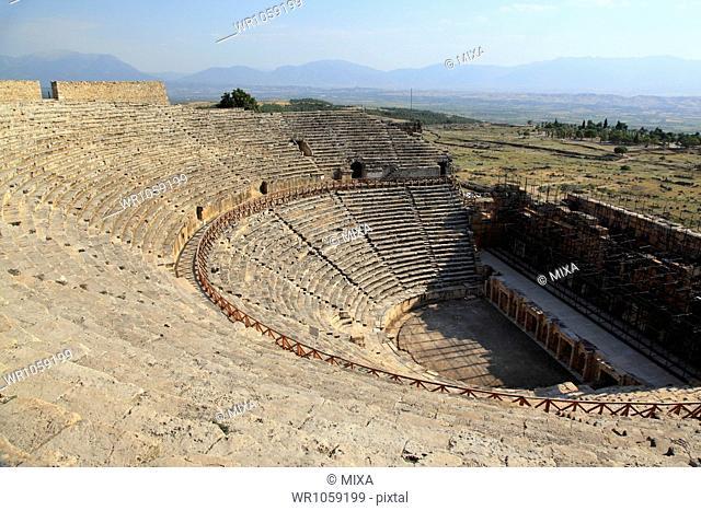Remains of Hierapolis, Pamukkale, Denizli, Turkey
