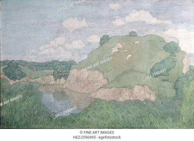 Sand hills, c. 1908. Found in the collection of the State Tretyakov Gallery, Moscow