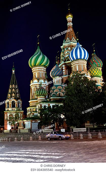 St Basil's Cathderal on Red Square, Moscow
