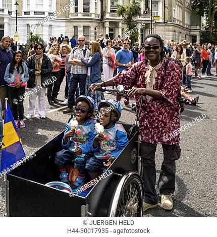 United Kingdom, England, London, Notting Hill Carnival, Kensington And Chelsea