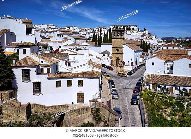 View of Ronda, Malaga province, Andalusia, Spain