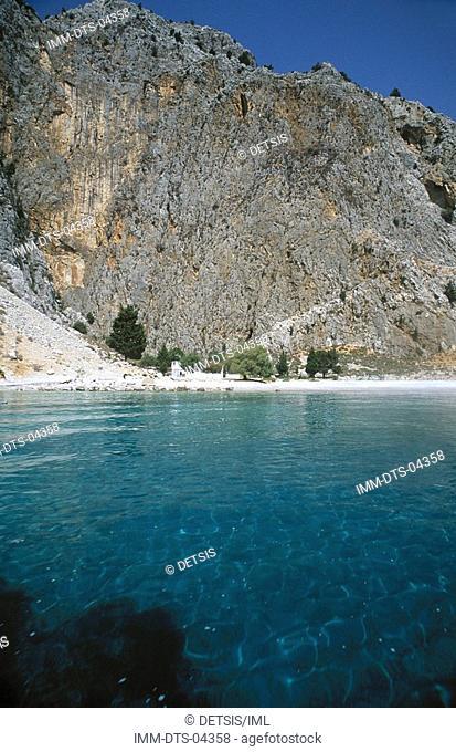 Disalonas beach , Symi island, Dodecanese, Greece