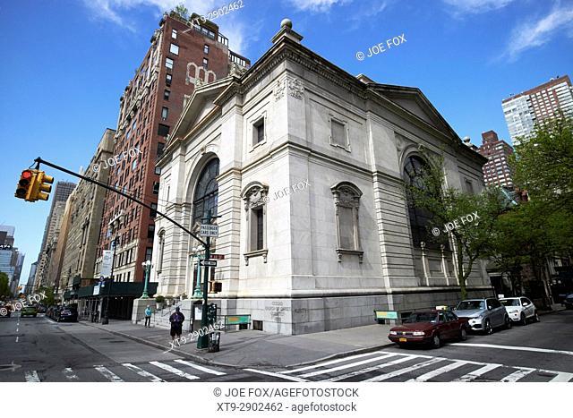second church of christ scientist building New York City USA