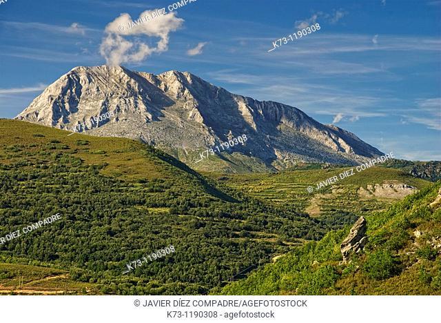 Espiguete Peak. Fuentes Carrionas y Fuente-Cobre Montaña Palentina Natural Park. Palencia Province. Castilla y Leon. Spain