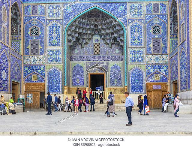Sheikh Lotfollah Mosque, Isfahan, Isfahan Province, Iran