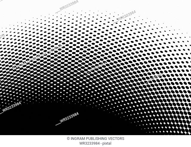 Black and white halftone abstract images with room to add text