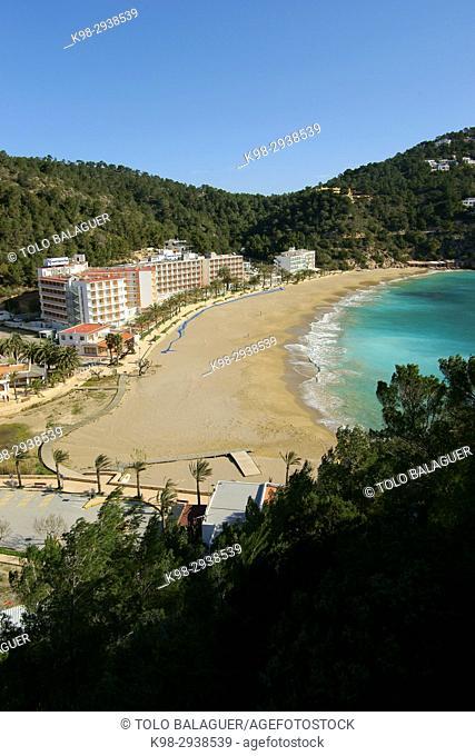 Cala de Sant Vicent. Ibiza. Islas Pitiusas. Baleares. España