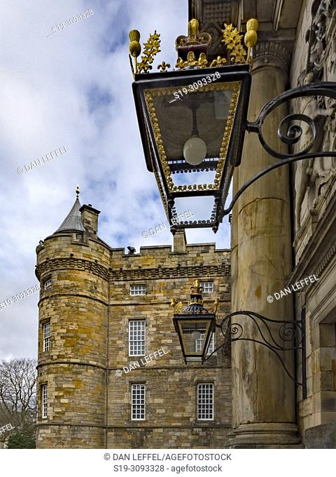 Edinburgh Scotland Hollyrood House