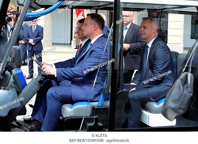 June 19, 2018 Warsaw, Poland. Pictured: President Andrzej Duda
