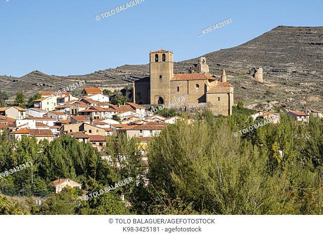 Iglesia de Santa María de la Estrella, Enciso, La Rioja , Spain, Europe