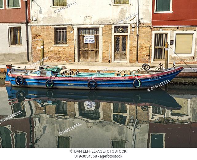 Reflections, Island of Murano, Venice, Italy