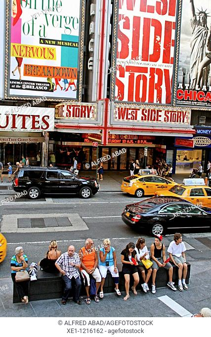 Broadway, Times Square, New York, USA