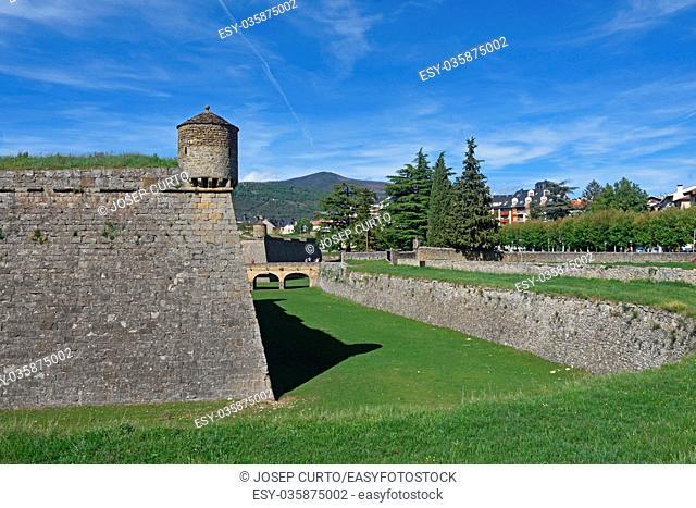 Citadel of Jaca in Huesca province, Aragon,