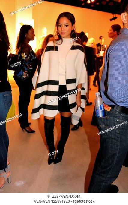 NYFW - Alice and Olivia By Stacey Bendet Presentation Featuring: Jamie Chung Where: New York, New York, United States When: 15 Sep 2015 Credit: IZZY/WENN
