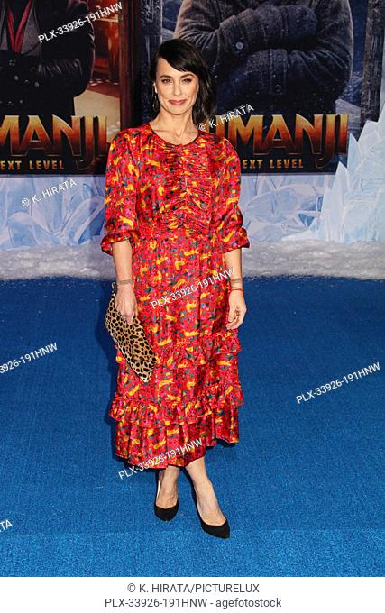 """Constance Zimmer 12/09/2019 """"""""Jumanji: The Next Level"""""""" Premiere held at the TCL Chinese Theatre in Hollywood, CA. Photo by K"""