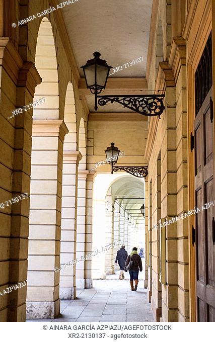 Streets of Modena, Emilia Romagna, Italy