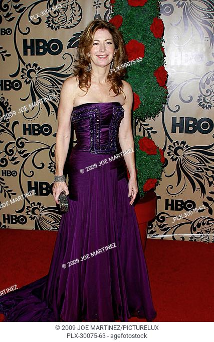 Dana Delaney at HBO's post award reception party following the 61st Annual Primetime Emmy Awards. Arrivals held at the Plaza, Pacific Design Center