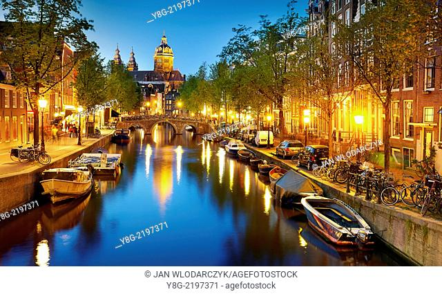 Amsterdam canal - Holland Netherlands