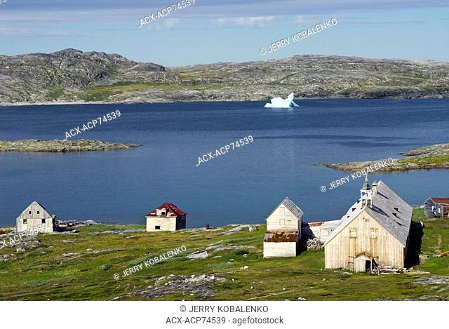 Abandoned village of Hebron, northern Labrador
