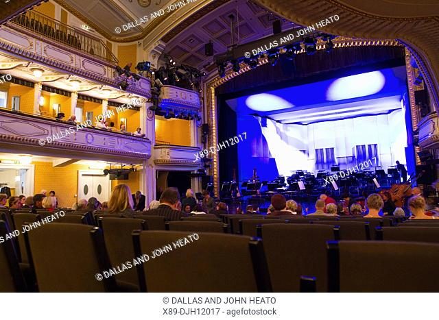 Europe, Austria, Carinthia, Klagenfurt am Worthersee, Municipal Theatre, Opera, Interior