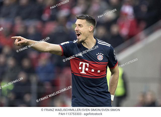 Sandro WAGNER (M) half figure, half figure, shows, indicates, loudly gives instructions; gesture, gesture; Soccer 1. Bundesliga, 21