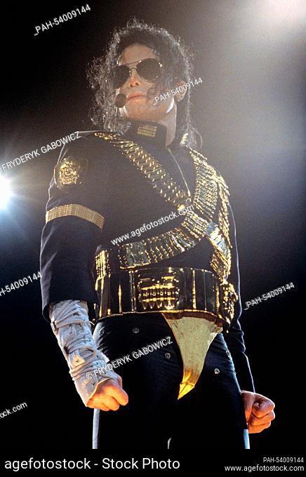 Michael Jackson on 27.08.1993 in Bangkok. | usage worldwide. - Bangkok/Thailand
