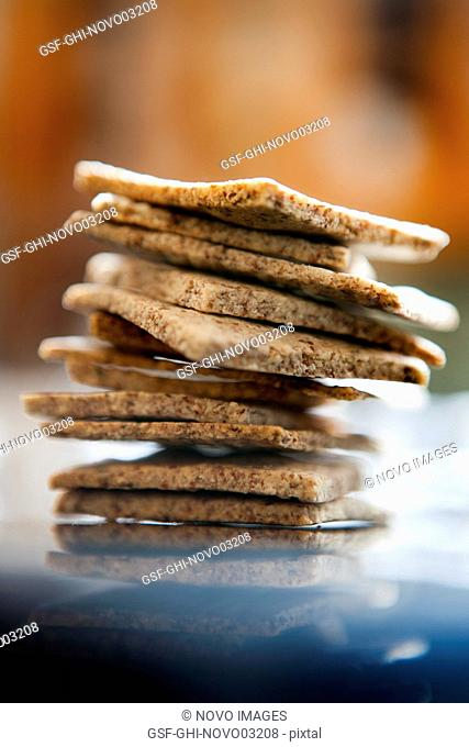 Stack of Paleo Crackers