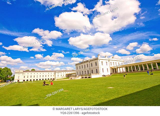 Old Royal Naval College, Greenwich University, London, UK