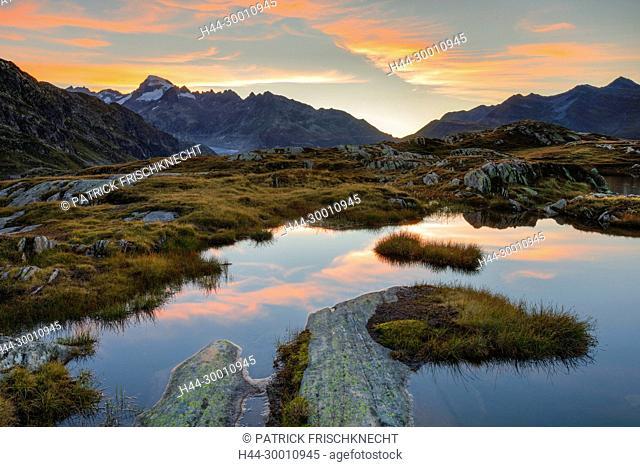 Galenstock - 3586m, Furkapass, Schweiz
