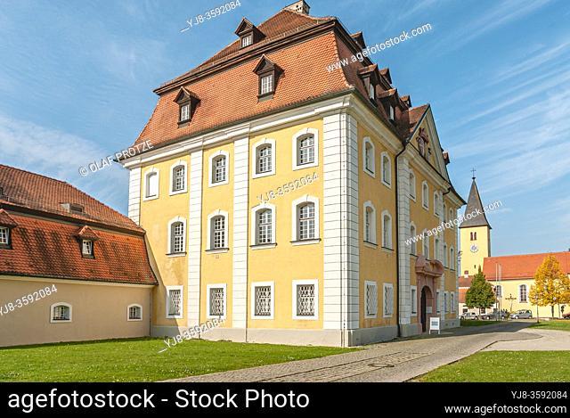 Theuern Castle in Kuemmersbruck, Bavaria, Germany