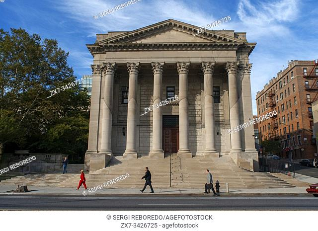 Richmond County Courthouse landmarked building on Richmond Terrace, Staten Island, New York City, New York
