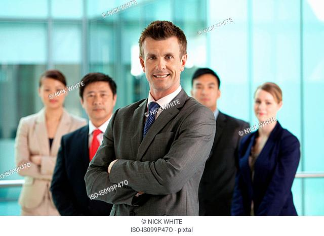 Multi racial businesspeople, portrait