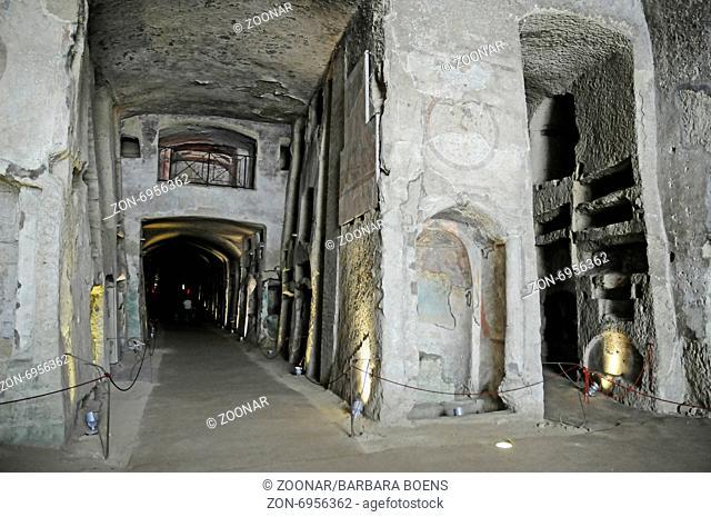 San Gennaro, catacombs, Naples, Campania, Italy
