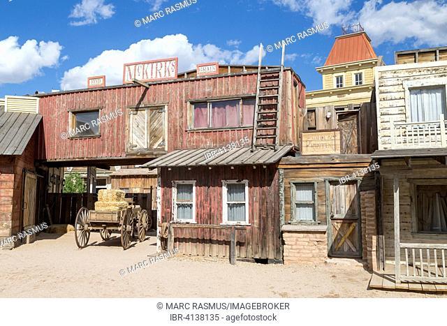 Wild West scenery, Old Tucson Studios, Tucson, Arizona, USA