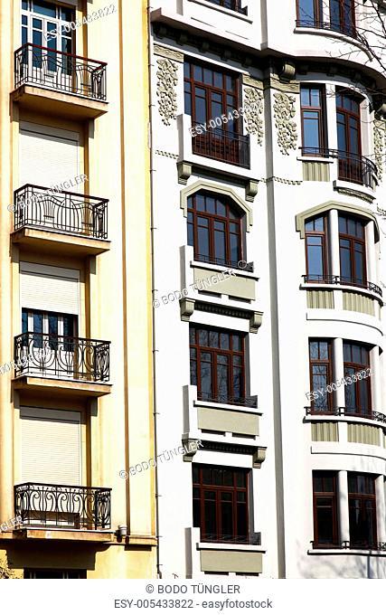 Jugendstilhäuser Istanbul