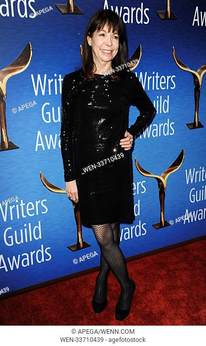 70th Writers Guild of America Awards held at The Beverly Hilton Hotel - Arrivals Featuring: Alison Cross Where: Los Angeles, California