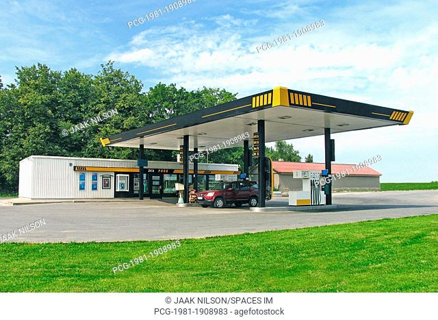 Estonian Gas Station