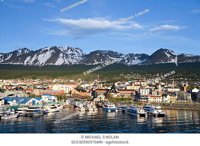 The town of Ushuaia, Argentina MORE INFO Ushuaia is the capital of the Argentine province of Tierra del Fuego and the southernmost city in the world Ushuaia is...