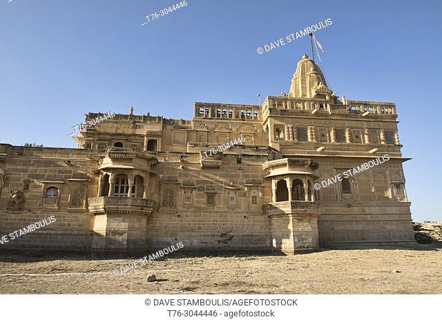 Amar Sagar Jain Temple, Jaisalmer, Rajasthan, India