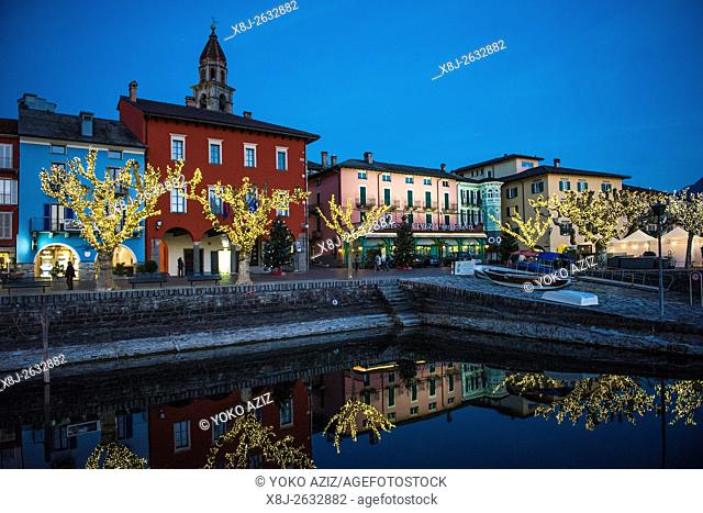 Switzerland,Canton Ticino,Ascona,Christams