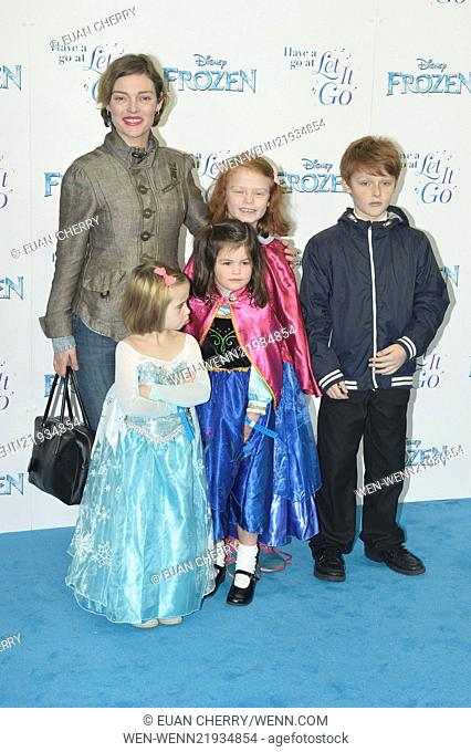The 'Frozen' Sing-Along at the Royal Albert Hall in London - Arrivals Featuring: Camilla Rutherford Where: London, United Kingdom When: 17 Nov 2014 Credit: Euan...