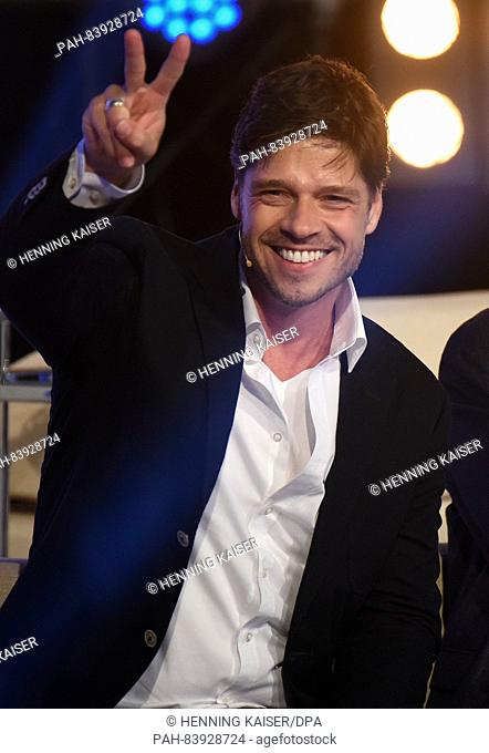 Actor Stephen Duerr seen during the television show 'Promi Big Brother' (lit. Celebrity Big Brother) by commercial broadcaster SAT1 in Cologne, Germany