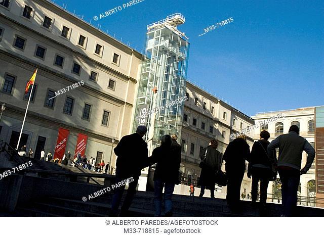 Museo Nacional de Arte Reina Sofía (national museum of contemporary art), Madrid. Spain