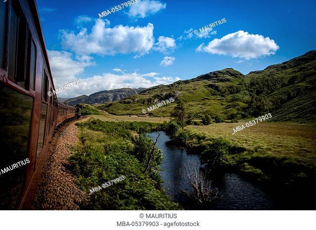 Journey by train, 'Hogwarts Express'
