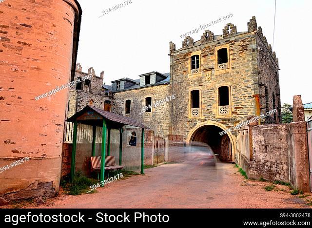 Castle of Arnado, Vilamartin de Valdeorras council, Orense, Spain