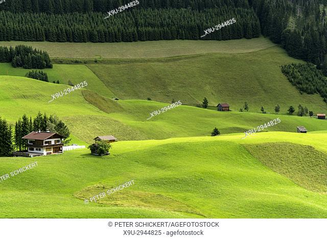alps around Berwang, Reutte, Tyrol, Austria
